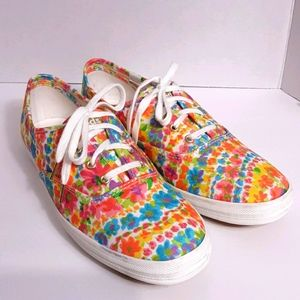 ❤❤❤KEDS WOMENS FLORAL SHOES SIZE 8.5❤❤❤